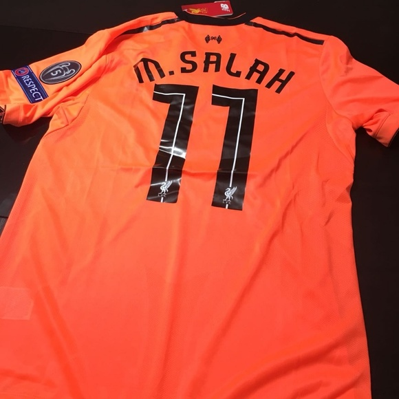 online store 38bbd e85af Liverpool Third Away Jersey UCL version SALAH#11 NWT